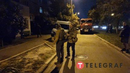 В Киеве мужчина угрожает взорвать гранату - полиция на месте