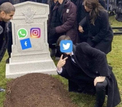 Twitter живий і буде жити: збій в Instagram і Facebook породив масу мемів