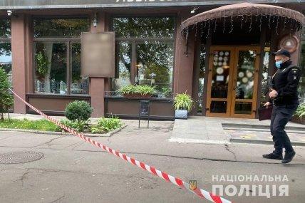 Место нападения на Козлова в Черкассах
