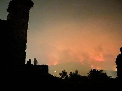 Вогонь наближався до будинків
