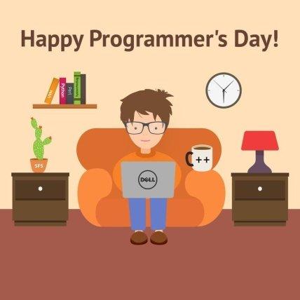 Открытки с Днем программиста