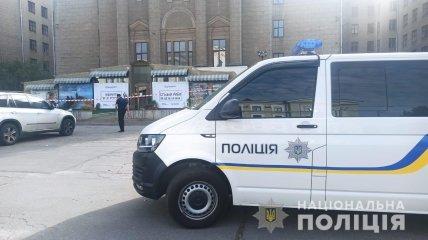 Полиция оцепила место самоубийства Олега Привалова