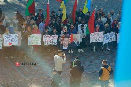 Под Верховной Радой требуют вернуть авиасообщение с Беларусью