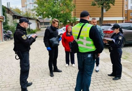 Опрос свидетелей в Ивано-Франковске