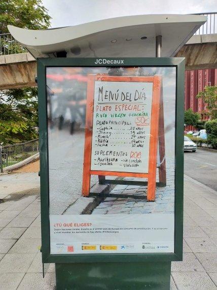 В Испании запустили жесткую социальную рекламу о российских проститутках