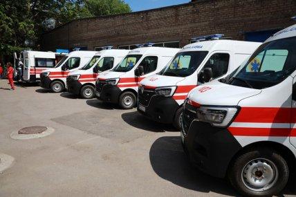 Новые авто для запорожских медиков