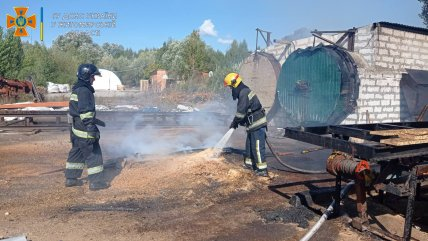В Житомире три человека пострадали при взрыве на предприятии