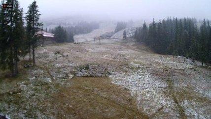 Сніг в Рахівському районі 22 вересня