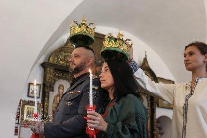 Венчание Андрея Антоненко и его жены Светланы