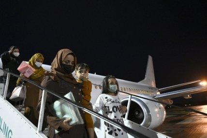 В Киеве приземлился самолет с эвакуированными украинцами из Кабула