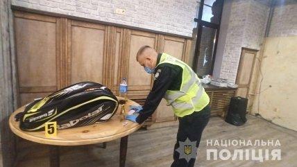 Место самоубийства Олега Привалова в его ресторане
