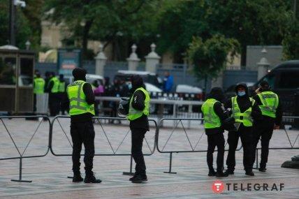 Поліція посилено охороняє урядовий квартал 23 вересня