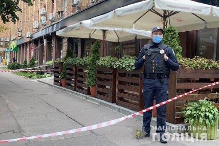 Место убийства в Черкассах оцеплено полицией