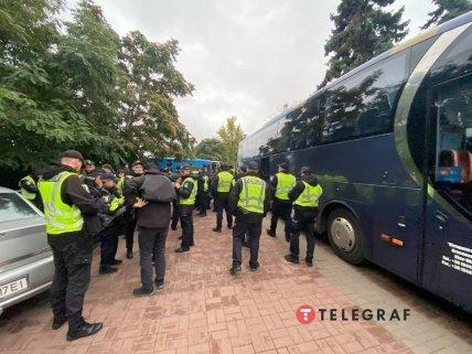 Правоохоронці на мітингу під Верховною Радою