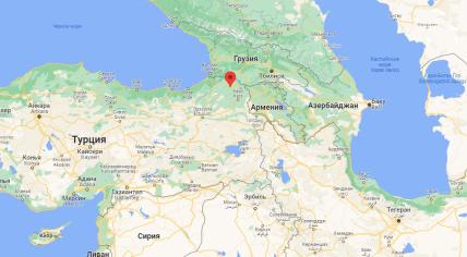 Ардахан знаходиться поруч з Грузією