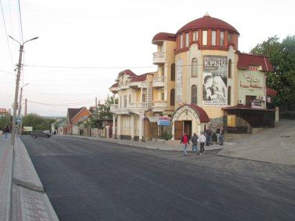 Здание этнографического караимского центра Кале с рестораном Крым