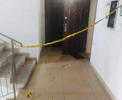 Квартира в которой напали на полицейского