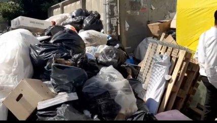 Жители Умани жалуются на появление на улицах мусора с приездом хасидов