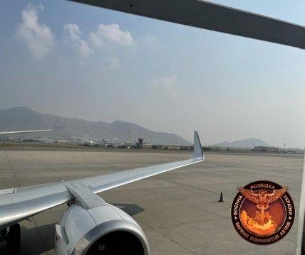 Из Кабула 23 сентября вылетел еще один самолет с украинцами