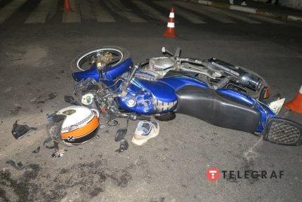 У мотоцикла серйозні пошкодження