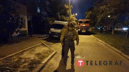 На Троещине работают взрывотехники полиции