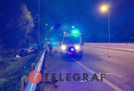 Двух пострадавших увезли в больницу