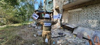 Руйнування в Новогнатівці