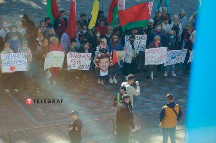 Митинг за возвращение авиасообщения с Беларусью