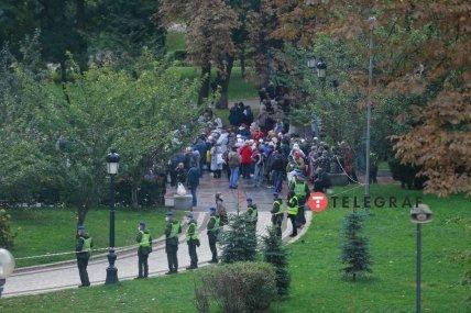 ОПЗЖ протестує під Верховною Радою 23 вересня