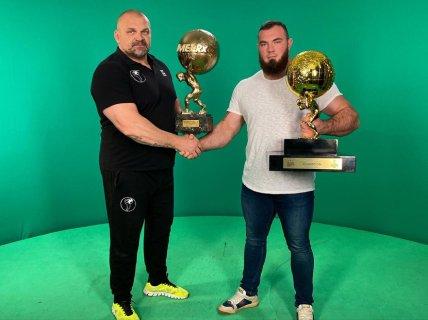 Самые сильные украинцы Василий Вирастюк и Алексей Новиков
