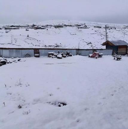 Сніг в Туреччині в жовтні