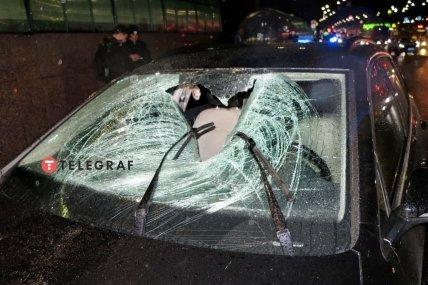 Смертельное ДТП с пешеходом на проспекте Палладина в Киеве