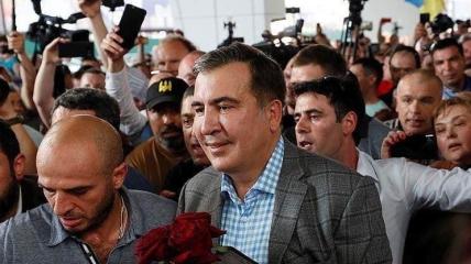 Саакашвили на границе не узнали