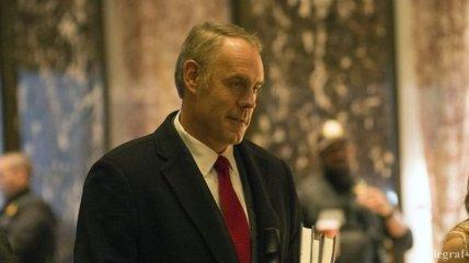 Трамп назначил министром внутренних дел США Зинке