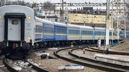 В Винницкой области из-за непогоды остановилось движение поездов