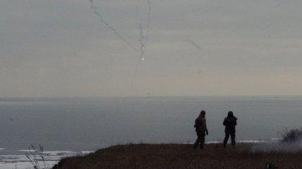 Боевики обстреливают противотанковыми ракетами село под Мариуполем