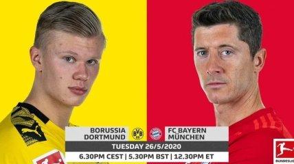 Боруссия Д - Бавария: где смотреть матч Бундеслиги