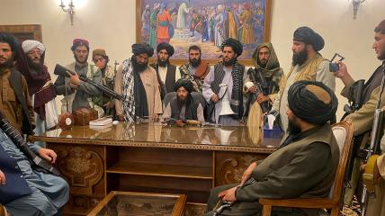 Теперь талибы представляют власть в Афганистане