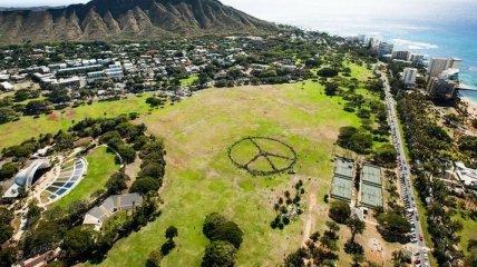 Гавайские острова с высоты (Фото)