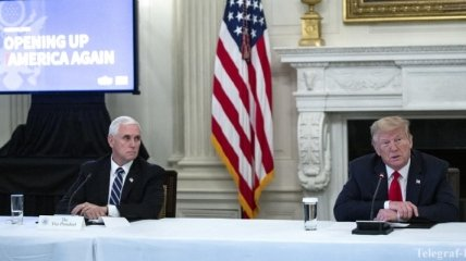 "Коронавирус у сотрудников Белого дома: Пенс решил ""дистанцироваться"" от Трампа"