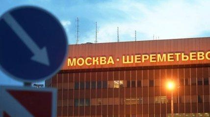 В аэропорту РФ загорелся самолет с пассажирами (Видео)