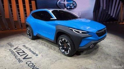 Женевский автосалон 2019: Subaru представила шоу-кар с уникальным дизайном
