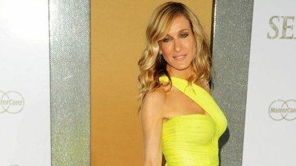 Шикарное платье от ливанского модельера: Сара Джессика Паркер на GLAAD Media Awards