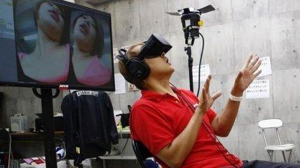 Виртуальная реальность будет дополнять японские фильмы для взрослых (Фото)