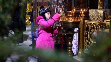 Православные отмечают Сочельник