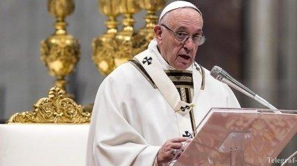 Папа Римский обратился к украинцам
