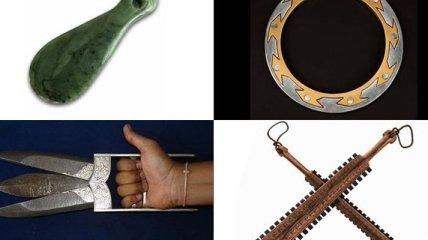 10 самых необычных древних оружий (Фото)