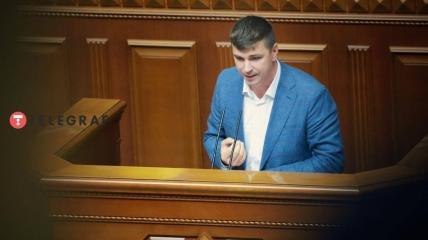 Народный депутат Украины Антон Поляков