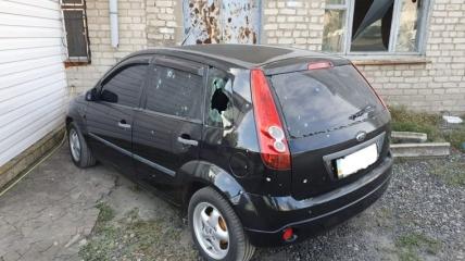 В результаті атаки бойовиків постраждали житлові будинки та авто місцевих громадян