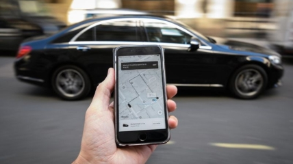 У Бучі водій Uber потрапив у ДТП через навігатор